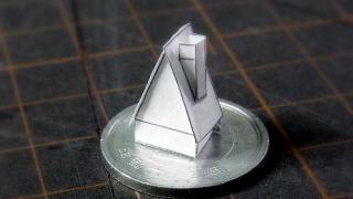 ヘクセンハウスの型紙作り