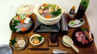 過去作品★ミニチュア鍋料理