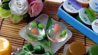 過去作品★ミニチュア花と涼菓