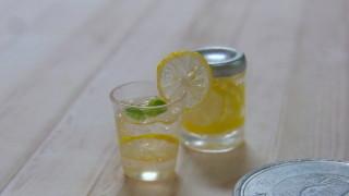 レモン漬けたのとレモネード