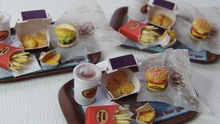 過去作品★ミニチュアハンバーガー