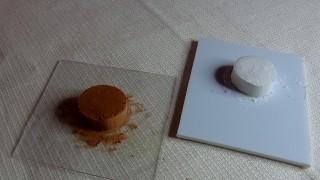 生クリームとチョコクリームのケーキ