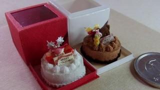 クリスマスケーキ2種出来ました