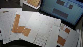 天井と設計図