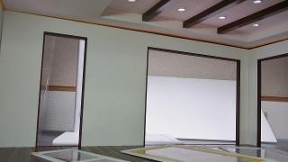 天井のその後と窓
