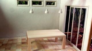 ダイニングテーブル製作中です。