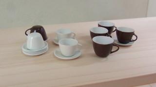 コーヒーカップ等作りました