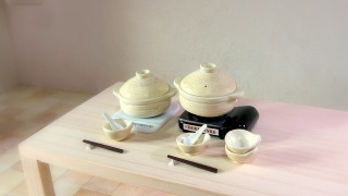 鍋ととんすいと昔作った卓上調理器