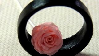 紙のバラを練習