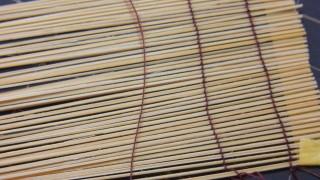 ゆずゼリー、竹羊羹、巻きす