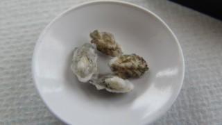 牡蠣を作りました。