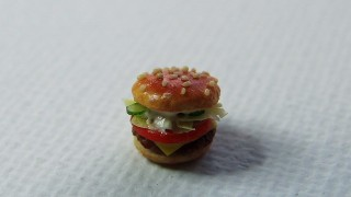 ハンバーガーの試作