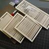 ルーバータイプのラティスフェンス作りました。