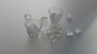 氷を作りました。
