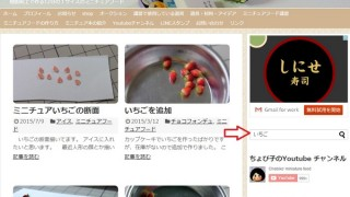 ブログ内検索を使ってみた。