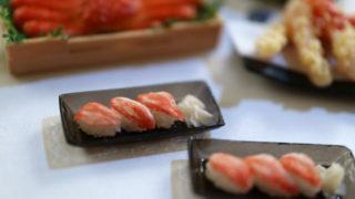 カニのにぎり寿司