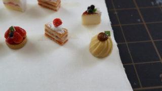 ケーキ、2種類追加。