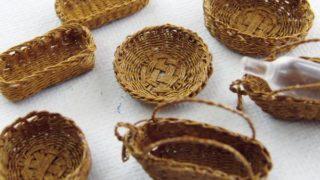 デアゴスティーニの気になるやつ。籐で作る小物とバッグ