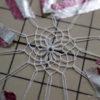 舟盛りの器についてる網、作ってます。