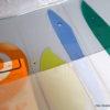 舟の型紙を作ってます。