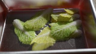 白菜と春菊