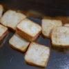 食パン焼いてます。